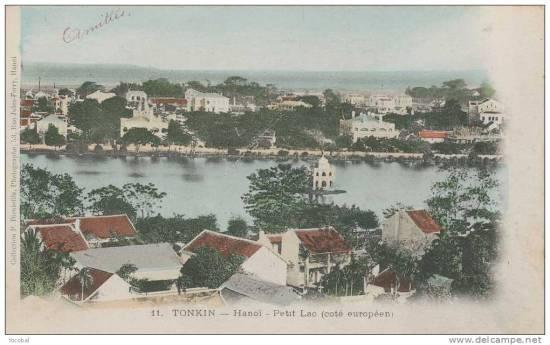 002.Hồ Gươm nhìn từ Nhà Thờ Lớn ra phía sông Hồng