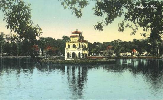 004.Tháp Rùa hồ Hoàn Kiếm