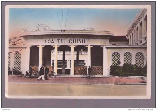 012.Tòa thị chính Hà Nội