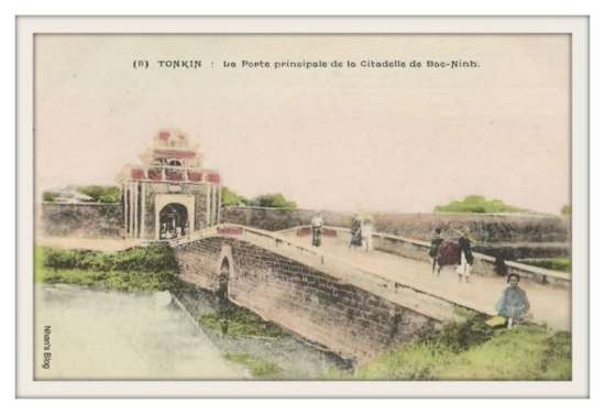 BẮC NINH-cổng phía bắc thành cổ Bắc Ninh