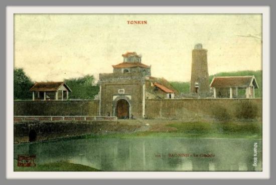 BẮC NINH-cửa nam thành cổ Bắc Ninh