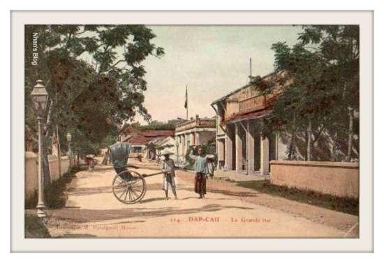 ĐÁP CẦU-đường phố Đáp Cầu