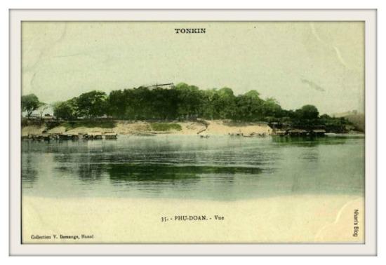 ĐOAN HÙNG-Nơi sông chẩy gặp sông Lô tại Đoan Hùng