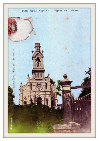CHỢ LỚN-Nhà thờ