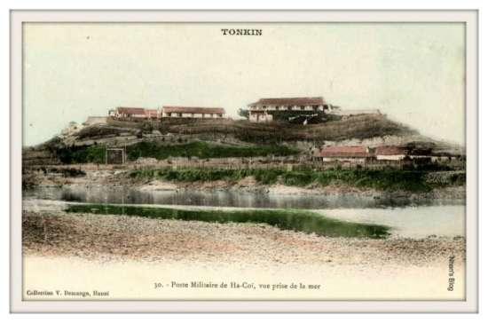 HÀ CỐI-đồn Pháp ở Hà Cối