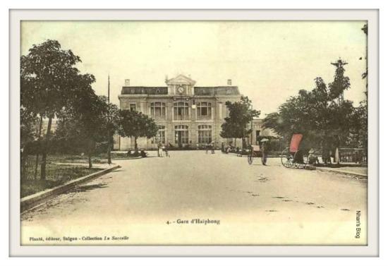 HẢI PHÒNG-ga Hải Phòng