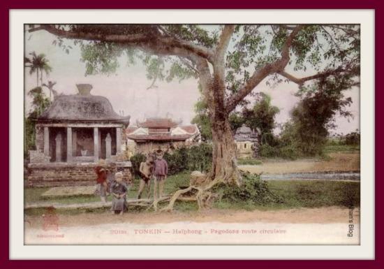 HẢI PHÒNG-ngôi miếu bên đường