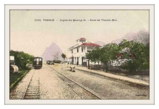 LẠNG SƠN-Ga Thanh Moi trên tuyến đường sắt đi Quảng Tây