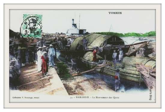 NAM ĐỊNH-cảng sông