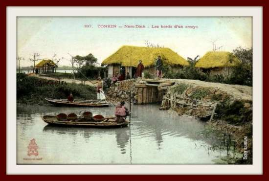 NAM ĐỊNH-cảnh làng quê