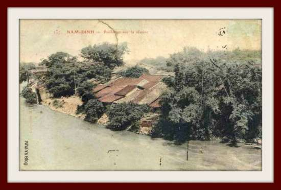 NAM ĐỊNH-làng ven sông