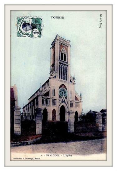 NAM ĐỊNH-nhà thờ