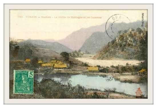 NÀ CHẠM-Đồn Pháp trên núi Nà Chạm