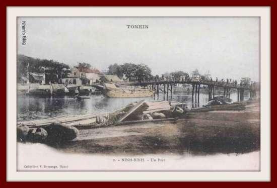 NINH BÌNH-bến cảng