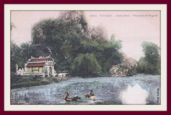 NINH BÌNH-chùa bên núi