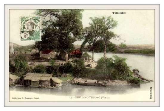 PHỦ LẠNG THƯƠNG-Bán đảo Mỹ Đức với đài tưởng niệm lính Pháp chết trận