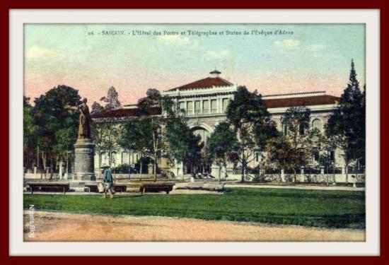 SÀI GÒN-Bưu điện trung tâm