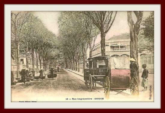 SÀI GÒN-Đường Lagrandiere (đường Lý Tự Trọng ngày nay)