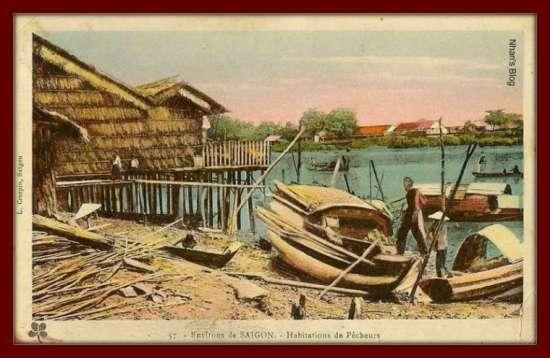 SÀI GÒN-Nhà bên sông ngoại ô