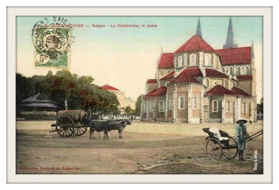 SÀI GÒN-Nhà kèn, Bưu điện và Nhà thờ