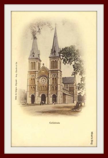 SÀI GÒN-Nhà thờ Đức bà