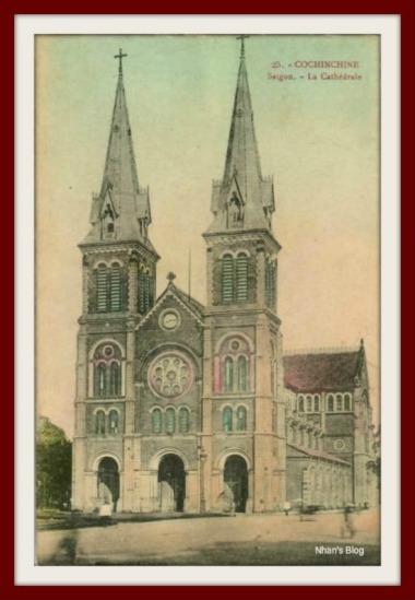 SÀI GÒN-Nhà thờ Đức bà3