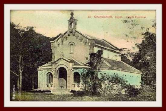 SÀI GÒN-Nhà thờ tin lành