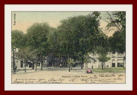 SÀI GÒN-Rue Turc (nay là đường Hồ Huấn Nghiệp)