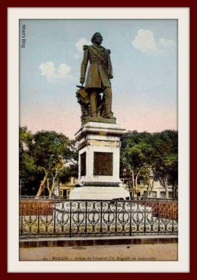 SÀI GÒN-Tượng đô đốc Rigault de Genouilly
