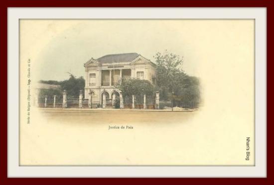 Tòa hòa giải trên đường Charner (đường Nguyễn Huệ)