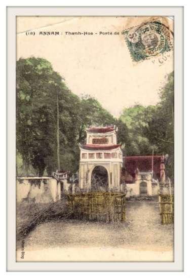 THANH HOÁ-cổng một ngôi chùa xứ Thanh