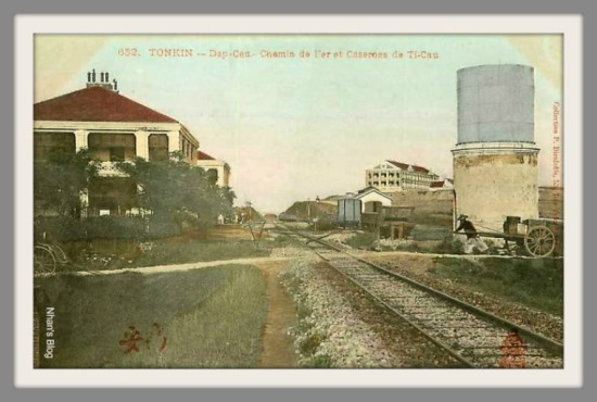 THỊ CẦU-trại lính Pháp quanh ga Thị Cầu