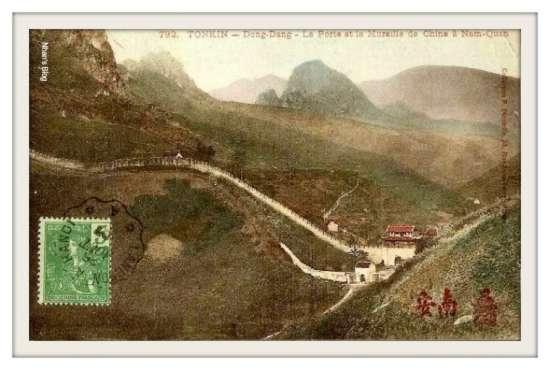 Toàn cảnh Ải Nam Quan nhìn từ phía Việt Nam