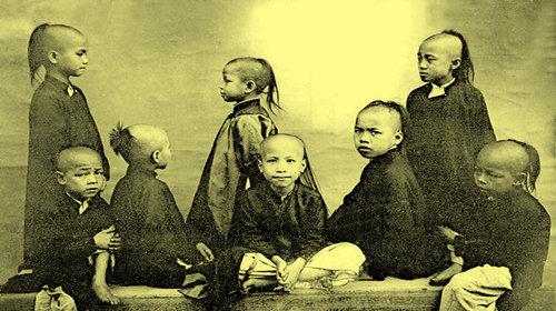 Trẻ em Hà Nội xưa