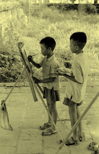Trẻ em với nghệ thuật