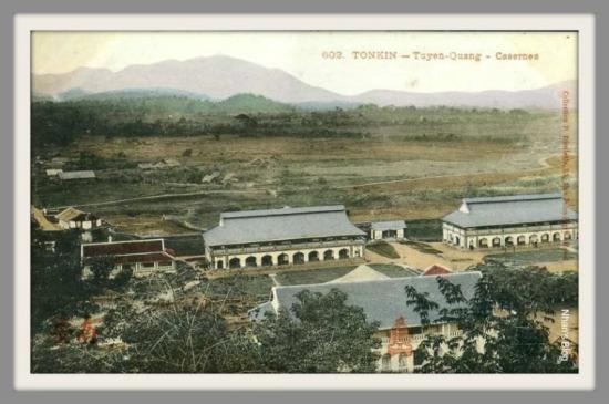 TUYÊN QUANG-trại lính Pháp trong thành cổ
