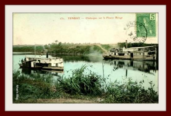 YÊN BÁI-tàu trên sông Hồng