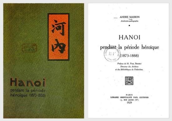 001.Bìa cuốn sách Hà Nội trong thời kỳ huy hoàng (1873 - 1888) của tác giả Masson, André,