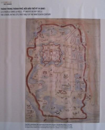 002.Bản đồ nửa đầu TK 19 -Hanoi 1831