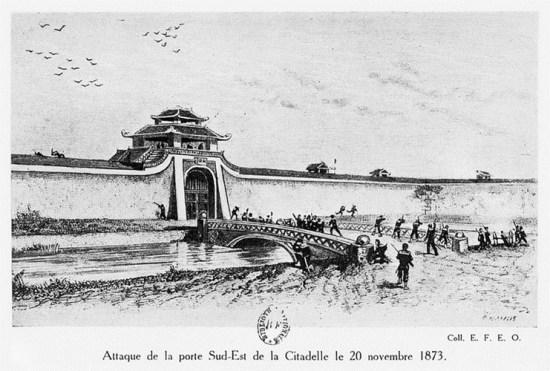 004.Trận tấn công cửa Đông Nam thành Hà Nội ngày 20-11-1873.