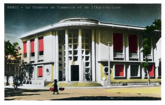 005.TONKIN - HANOI - Chamber of Commerce 1940-Phòng thương mại