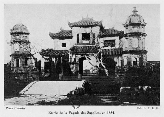 014.Cổng chùa Báo Ân năm 1884.