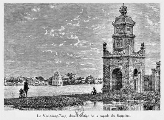 015.Tháp Hòa Phong, dấu tích còn lại của chùa Báo Ân sau khi bị người Pháp phá hủy