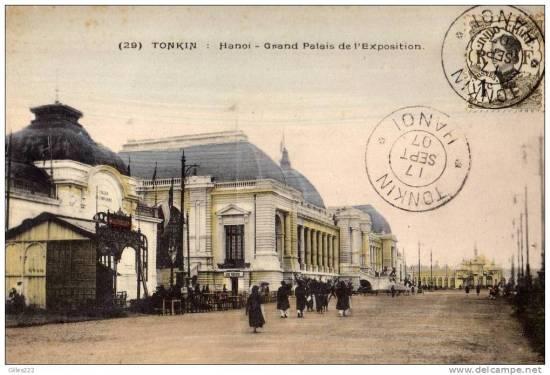 Tòa nhà triển lãm - Nhà Đấu Xảo Hà Nội