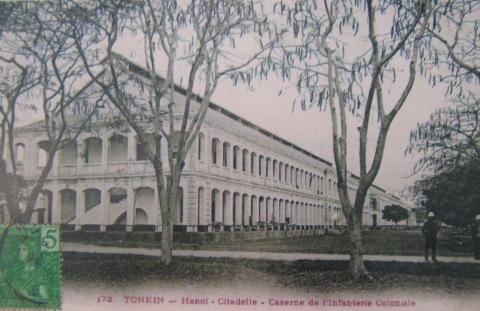 15.Doanh trại Bộ binh thuộc địa (1886). Ảnh SHD.