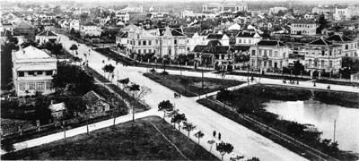 19.Phía nam thành phố nhìn từ Kỳ đài (1907) - Ảnh do Ngọc