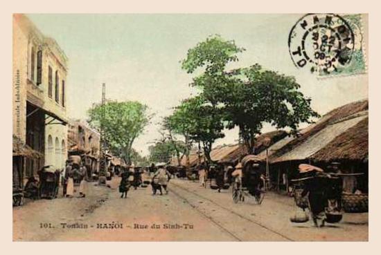 Hanoi - Rue du SinhTu 1909