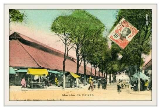 SÀI GÒN-Chợ Sài Gòn