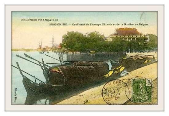 SÀI GÒN-Hợp lưu của dòng kênh với sông Sài Gòn