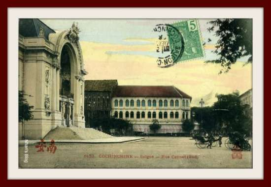 SÀI GÒN-Nhà hát lớn, KS Caravelle